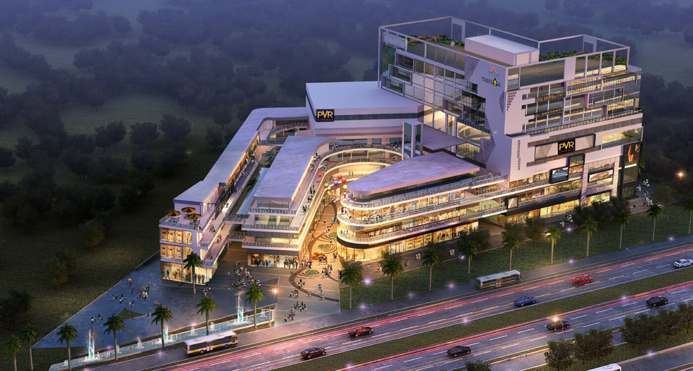 spaze tristar retail shops food courts sector 92 gurgaon