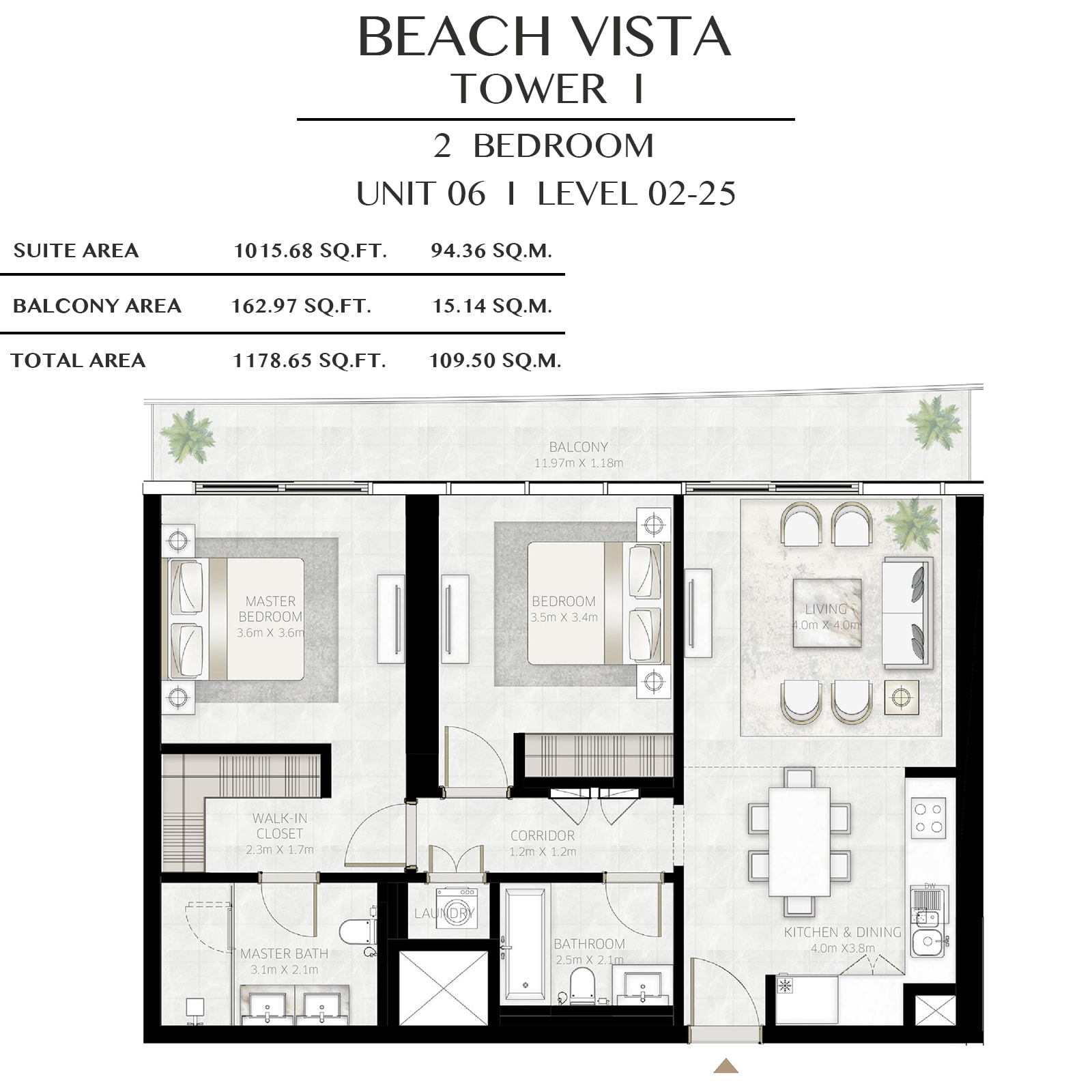 emaar beach vista apartments price dubai